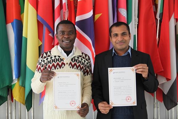 NWAFU International Students First Won Chinese Government